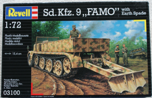 Revell 1/72 03100 Sd.Kfz 9 Famo with Earth Spade
